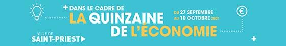 Participez à la quinzaine de l'économie du 27 septembre au 10 octobre