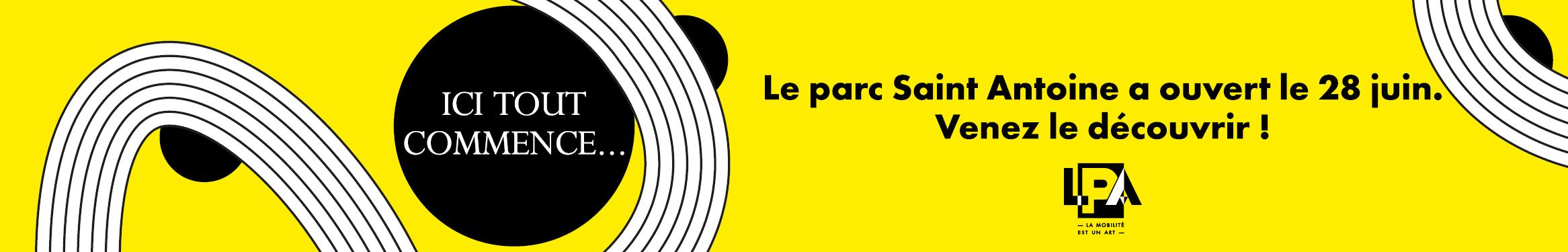LPA - Le parc Saint Antoine a ouvert le 28 juin